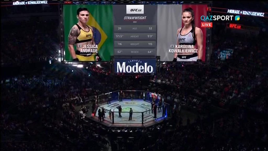 UFC 228. Каролина Ковалькевич - Джессика Андраде |  Karolina Kowalkiewicz - Jessica Andrade