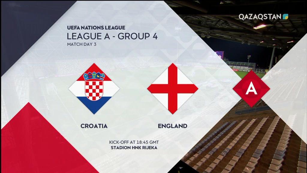 13.10.2018 - Футбол. УЕФА Ұлттар лигасы. Хорватия - Англия (Толық нұсқа)
