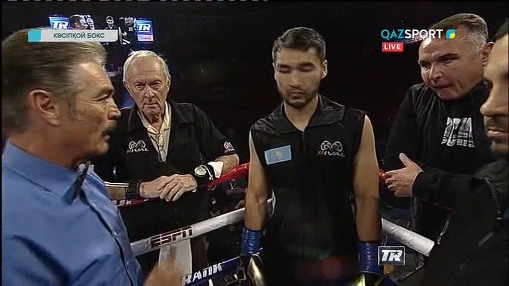 Кәсіпқой бокс. Сағадат Рахманқұл - Никлаус Флаз