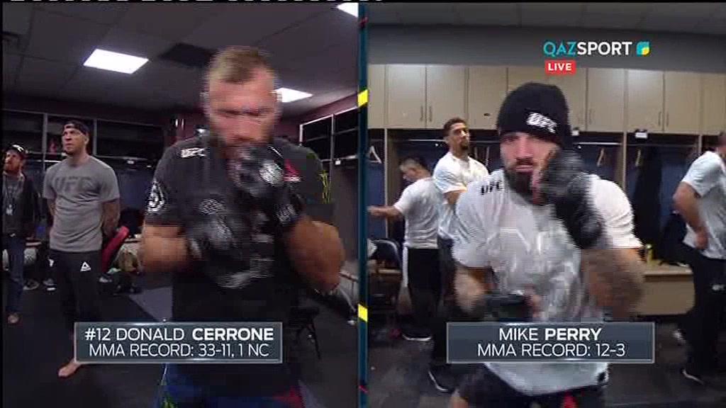 UFC FIGHT NIGHT DENVER. Дональд Серроне - Майк Перри