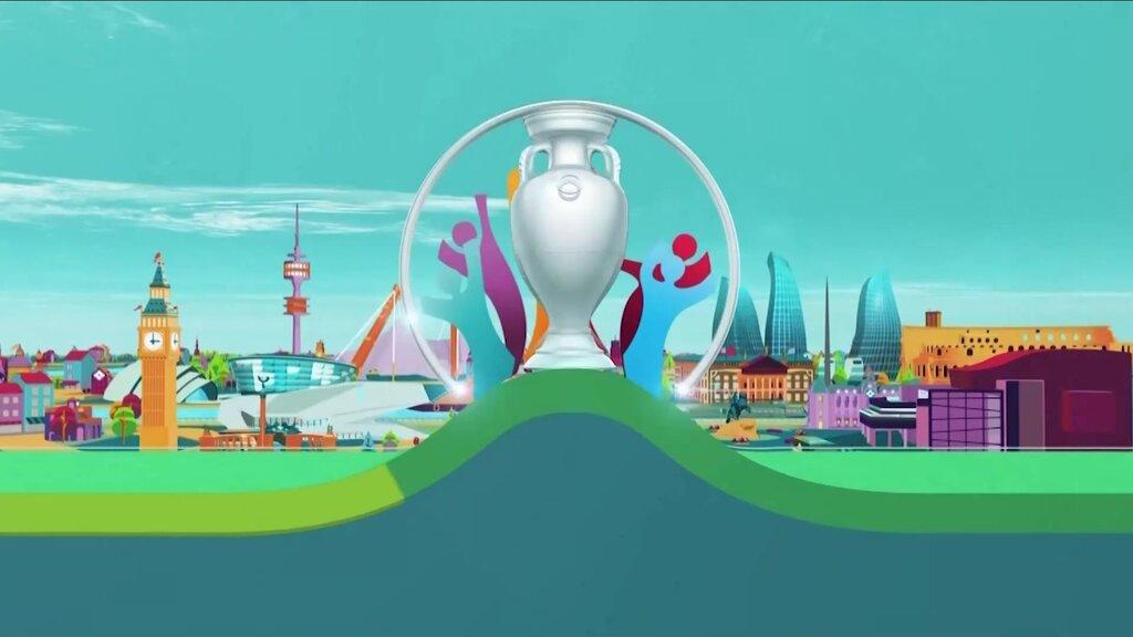 ФУТБОЛ. UEFA EURO 2020. «ДОП ДОДА». 1-бағдарлама